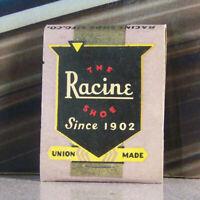 Vintage Matchbook U4 Ottawa Kansas Paine's Men's Fine Racine Shoes Union Since