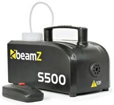 BeamZ S500-P - Machine à fumée en plastique avec liquide, réservoir 250 ml, 500