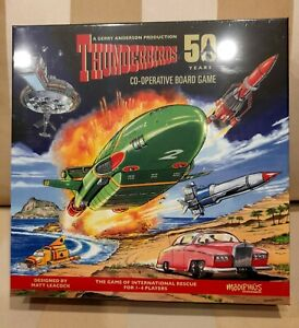 Thunderbirds 50th Year Co-operative Board Game