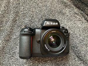 Nikon F100 35mm Camera + 24mm 2.8 AF lens