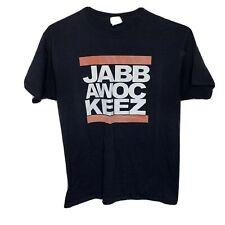 Jabbawockeez M Medium Black T-shirt Tee Hip Hop Dance Las Vegas Troupe Show