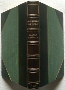 Brazenhead the Great by M Hewlett, 1911 - Morrell Fine Binding, Near Fine