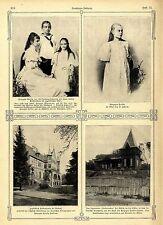 Herzogin Cecilie von Mecklenburg- Schwerin Jagdschloß Gelbensande b. Rostock1905