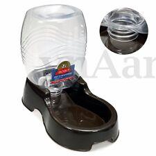 Pet Dog Cat Automatic Dry Food Feeder Fountain Auto Dispenser Dish Bowl 946mL