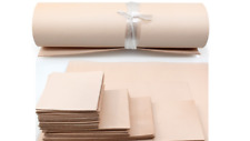 30x30cm VEG TAN LEATHER COWHIDE OFFCUTS  -Select Thickness-