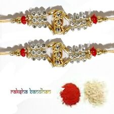 Rakhi Brother Sister India Festival Rakhi for Raksha Bandhan Set of 2 Rakhi