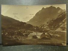 cpa photo 74 edition perrochet chalets de barberine