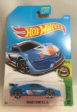 2017 Hot Wheels Renault Sport R.S. 01 in Blue 252/365 Hw Exotics 10/10