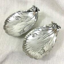 Antique Christofle Silver Plated Bowls Catchall Original French Art Nouveau