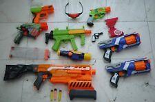 NERF Wars Party Gun Lot Zombie Strike Strongarm Blaster Doublestrike Demolisher
