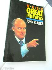 JOHN CLARKE More Great Interviews 1992 PAPERBACK Australian satire
