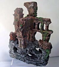 Aquarium Fish Tank Castle Monastery Abbey Ruins Model
