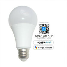B22 Bulb WiFi + Smart Life  App Remote Control Light for Alexa/Google Home