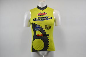 Verge V Gear Yucaipa Bike Women's S/L Cycling Jersey Green Yellow, L, Brand New