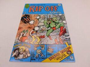 RIP OFF COMIX #1 Fabulous Furry Freak Brothers Wonder Warthog Underground Comics