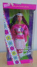 1994 Native American Barbie Third Edition Dolls of the World Series Mib Nice!