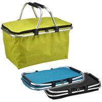Einkaufskorb Einkaufs-Korb Einkaufstasche Shopping Bag mit Aluminiumtragegriffen