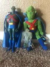 Justice League 10 inch , Martian Manhunter 10 inch Beanbag & 3 & 1 Inch Action