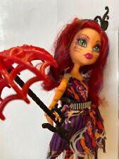 Muñeca Monster High torelei con paraguas de pierna Tigre