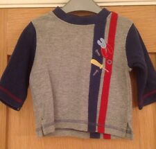 Baby Boys Long Sleeved T-shirt Top By Gymboree Size 3-6 Months