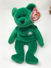 TY Beanie Baby - ERIN the Irish Bear (8.5 inch) - Stuffed Animal Toy  -s-