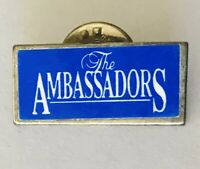 The Ambassadors Souvenir Pin Badge Rare Vintage (L46)