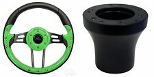 EZGO Aviator 4 Golf Cart Steering Wheel Kit (Green)