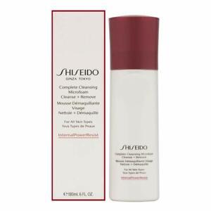 NIB Shiseido Ginza Complete Cleansing Microfoam for All Skin Types 6 oz / 180 ml