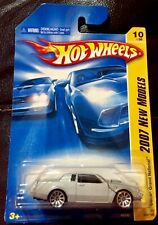 🏁 HOT WHEELS 2007 SILVER BUICK GRAND NATIONAL - New Models 🏁