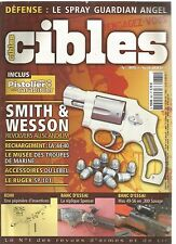 CIBLES N°385 SMITH & WESSON REVOLVERS AU SCANDIUM / LA 44-40 / RUGER SP 101