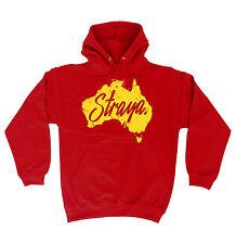 Straya Australia Map HOODIE hood birthday present fashion gift funny slang