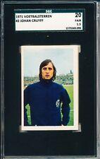 1971 Johan Cruyff Vanderhout SGC 20 = PSA 1.5 Soccer card VHTF! Rare!