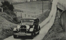 Brooklands Test Hill The Lincoln Car 1931 Ad Advertisement 6006