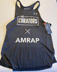 Under Armour 2 piece Ladies Activewear set vest and comp leggings - Size Medium