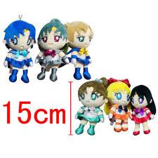 Soft Toy Sailor Moon 15 CM Mars Mercury Jupiter Venus Manga Anime Plush Doll 2