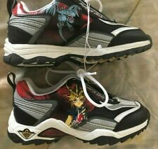 Vintage 1996 Yugioh Tennis Shoes Kazuki Takahashi Size 2 Youth US Yu-Gi-Oh RARE!