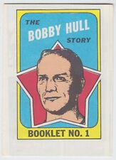 1971-72 O-Pee-Chee/Topps - Bobby Hull - Booklet #1 - Chicago Black Hawks - NrMt