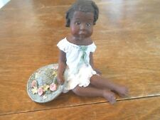 Sarah's Attic Black Americana Misty Dated 1995 Very Cute Young Lady Limited Ed.