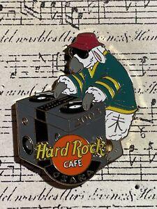 Hard Rock Cafe -  Osaka   Sheep in Green & Yellow Jersey Playing Records
