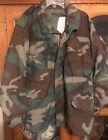 US Military M65 Field Jacket Woodland BDU Camouflage Small Short Army USMC Used