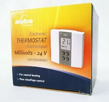 Aube TH135-01-B Ducted Heating Heater Thermostat Controls Controller