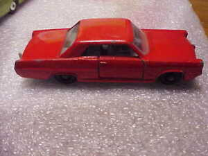 Matchbox Made in England By Lensey No. 22 Pontiac GP Sports Coupe