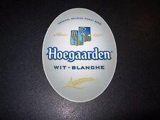 HOEGAARDEN Belgian Wheat hoegarden Oval STICKER decal craft beer brewing brewery
