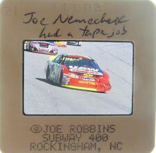 JOE NEMECHEK NASCAR FRONT ROW 4 WINS 10 POLES   62 TOP 10'S ORIGINAL SLIDE 1