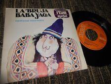 """ISAO TOMITA Baba Yaga/Introduccion y..7"""" 1970 SPAIN CUENTOS MUSICA TV OST BSO"""