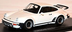 Porsche 911 Turbo Type 930 G-Model Coupe 1975 White 1:43 Kyosho
