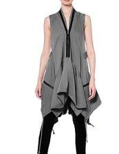 Garcia Parachute Pocket Dress Funky Hipster Gray Sz S Zippers High Low $130