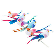 Clip On Party Love Birdies Wedding Decoration Birds x 6 For Birdcages and Decor