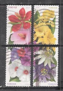 LA FLORIDA #4750-4753 Used US 2013 Forever (46c) Stamp Set