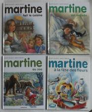 MARTINE - LOT 4 LIVRES - CASTERMAN RÉÉDITION - TRÈS BON ÉTAT